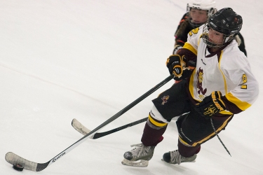On September 23, in their first ever match, the ASU women's hockey team kicked off their season as the furthest west female collegiate hockey team in the lower 48.